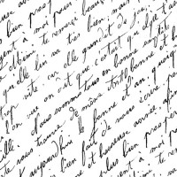Antique-French-script-handwriting-free-printable