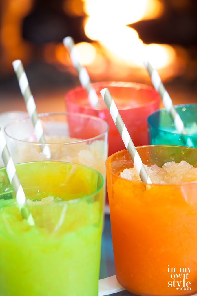 Frozen Holiday Cocktail Drinks