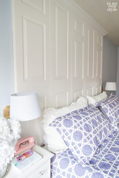 How to Make a Bed Headboard with Old Doors