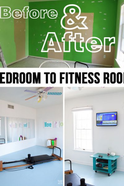Fitness Room: Before & After