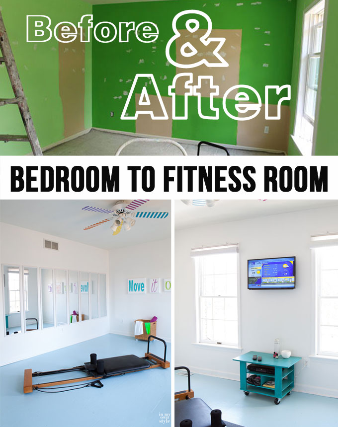 How to turn an extra-bedroom-to-Fitness-Room