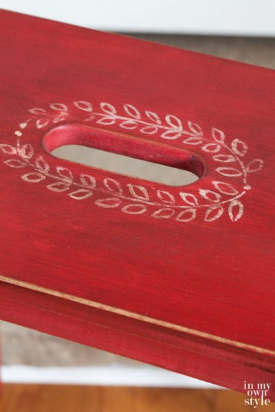 Painting With Miss Mustard Seed Milk Paint