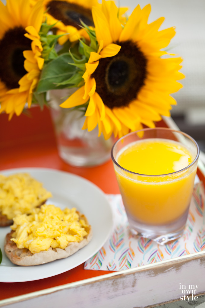 Breakfast alfresco ideas