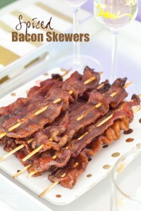 Love bacon in all shapes and forms? You will love this bacon recipe that makes perfect party fare. | In My Own Style