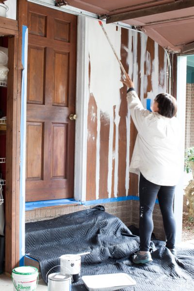 How to Paint Wood Paneling Successfully