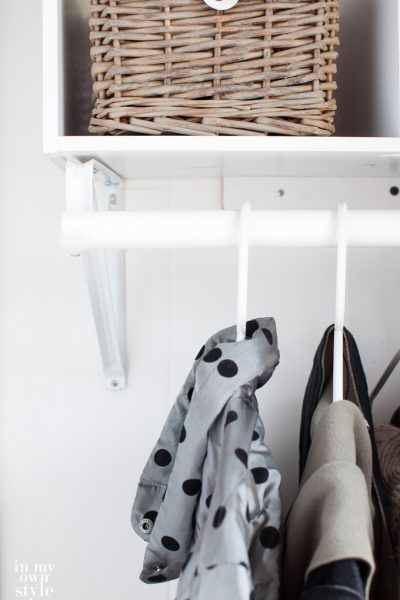 How to Create a Mini Mudroom