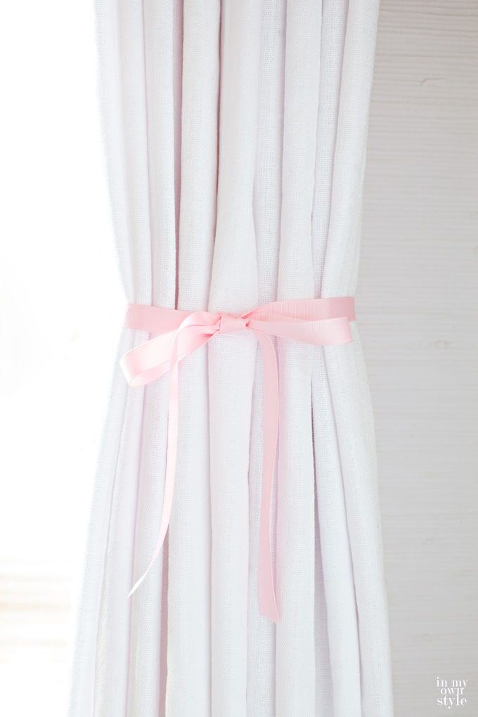 How to create perfect pleats in drapes