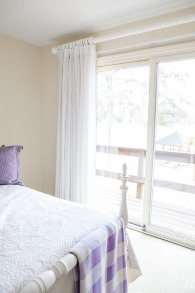 In Search Of: Solid White Drapes