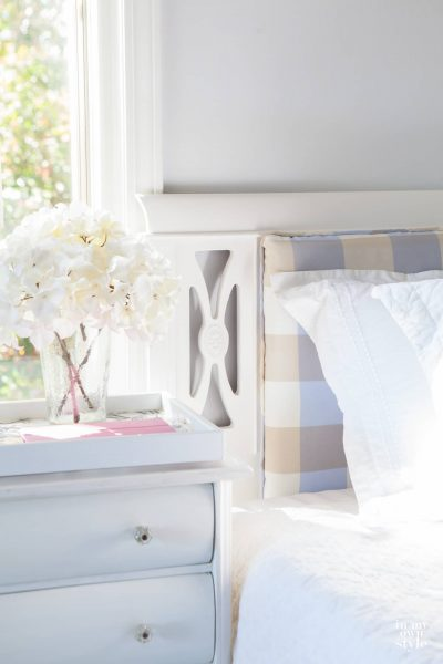 Use What You Have Decorating: Cushioned Headboard