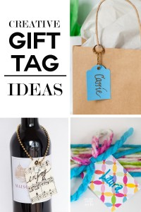 Learn how to make stylish gift tags using decorative papers and odds and ends. They are perfect for embellishing teacher and hostess gifts. | In My Own Style
