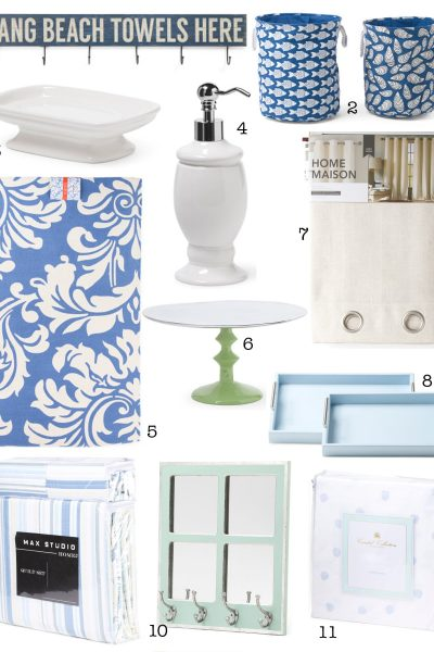 Summer Decorating Finds + $100 T.J. Maxx Giftcard