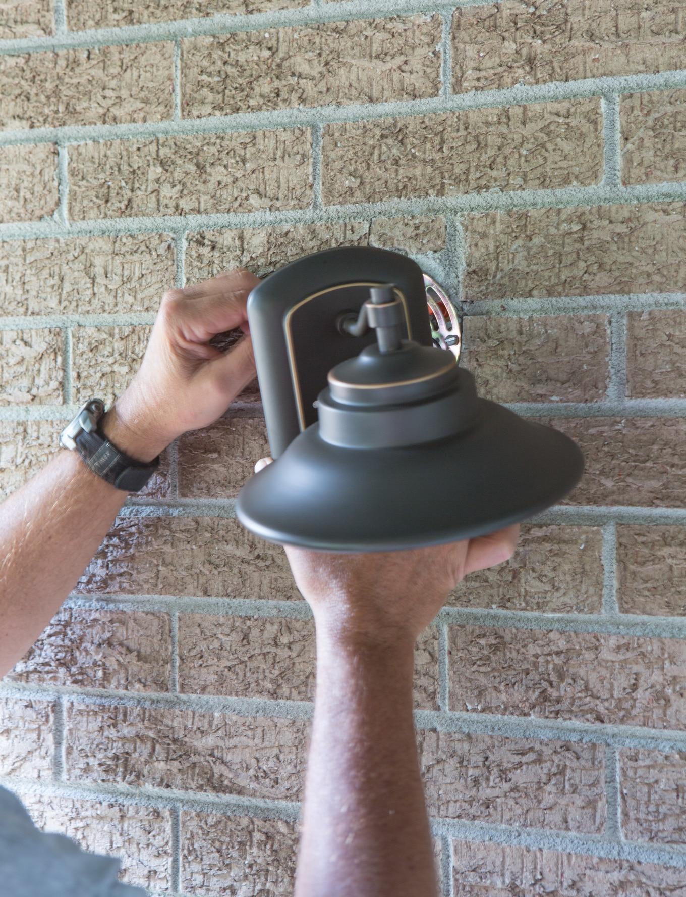 How to update outdoor lighting