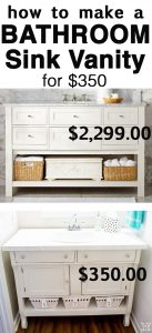 Stupendous How To Repurpose A Sideboard Into A Sink Vanity In My Own Home Interior And Landscaping Analalmasignezvosmurscom