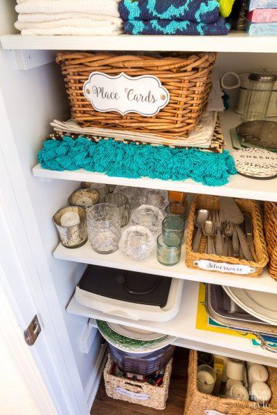 Organizing: Small Closet Makeover