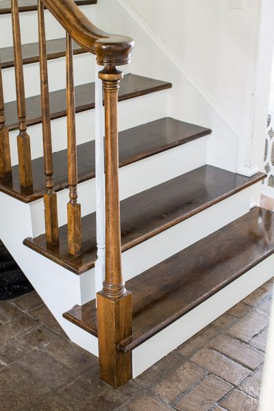 Update: Foyer Staircase Makeover