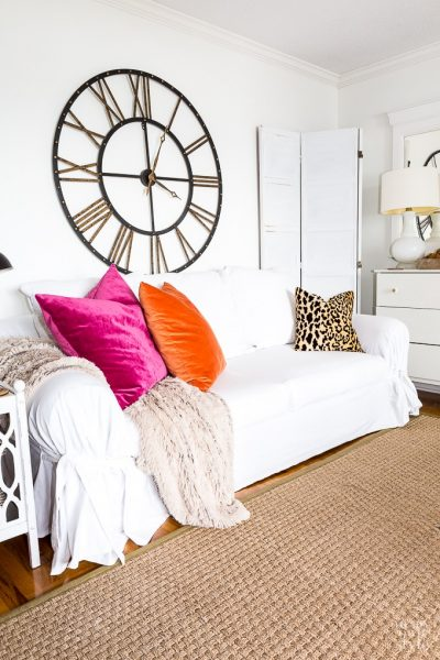 Why I LOVE Living with White Slipcovers