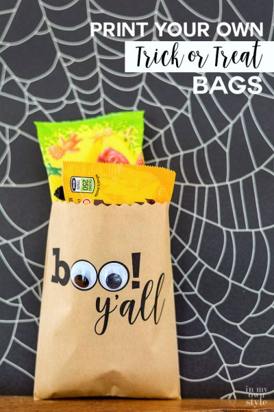 Custom Print: Halloween Treat Bags