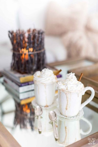 Cozy At Home with a Hot Buttered Rum