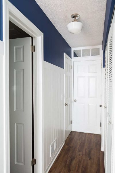 How to Make a Fake Transom Above a Door