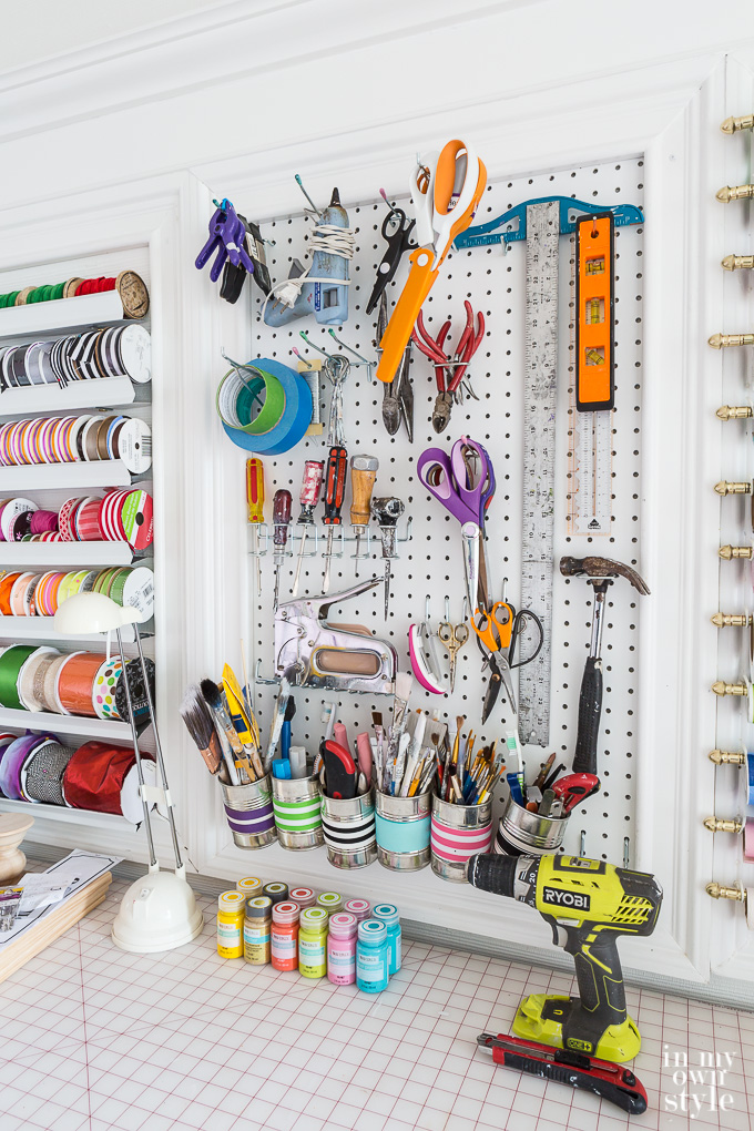 craft room in house