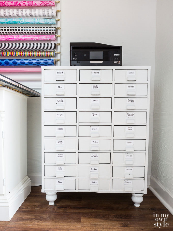 dream craft room storage