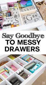 Diy Desk drawer dividers