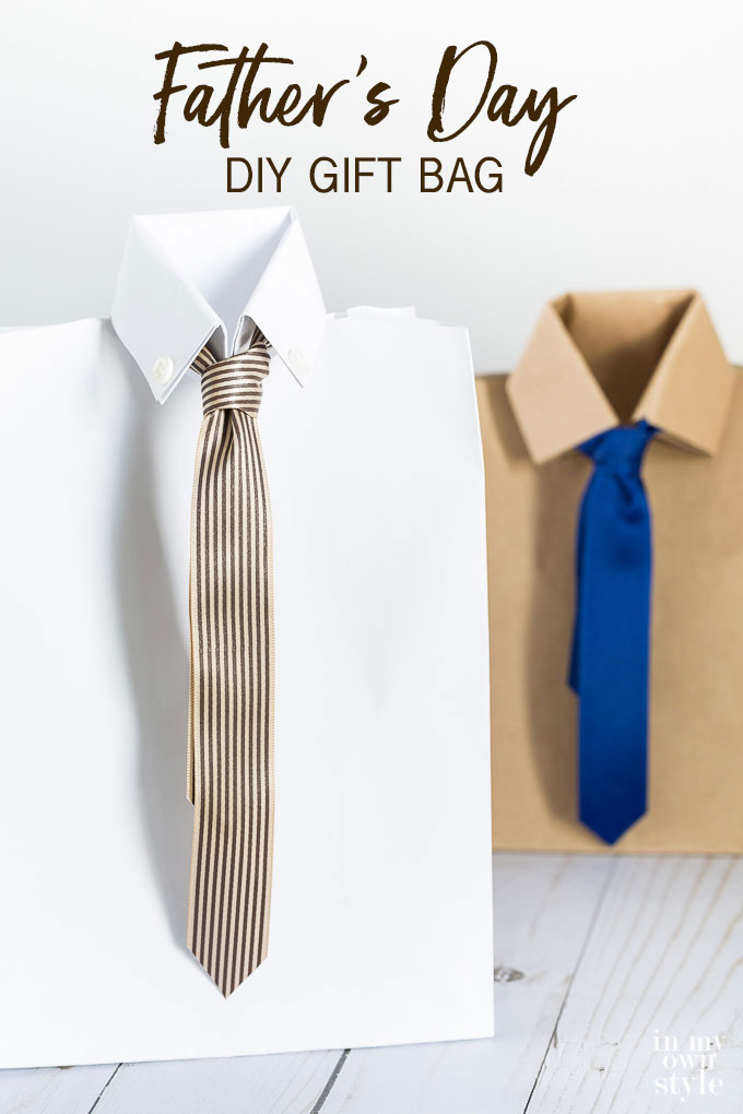 Easy to make Father's Day gift wrap