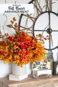 Fall-flower-arrangement-made-easy