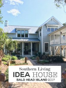Take a tour of the Southern Living Idea House 2017 to find decorating ideas and tips that you can use when decorating your home. Many great ideas you can DIY on a budget. Like the using ribbon trim on walls.