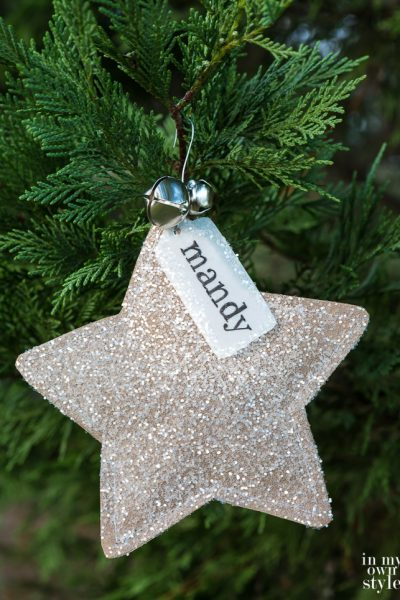 Handmade Christmas Star Ornament With Surprise Inside