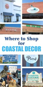 Coastal Decor. Best places to shop for decorating items, furniture, accessories and more in Panama City Beach Florida