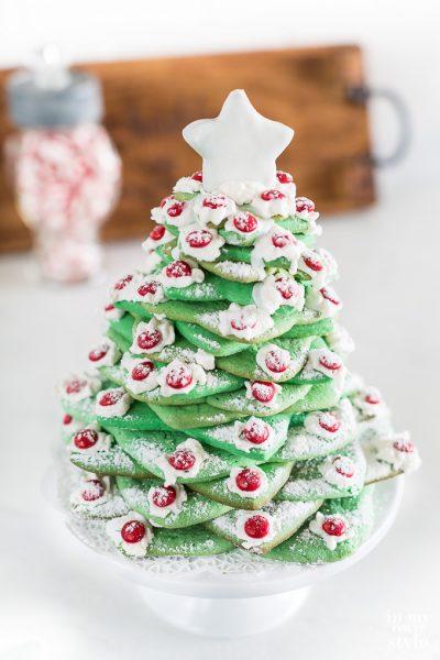 How to Make an Edible Christmas Cookie Tree
