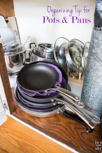 A Peek Inside My Kitchen Cabinets