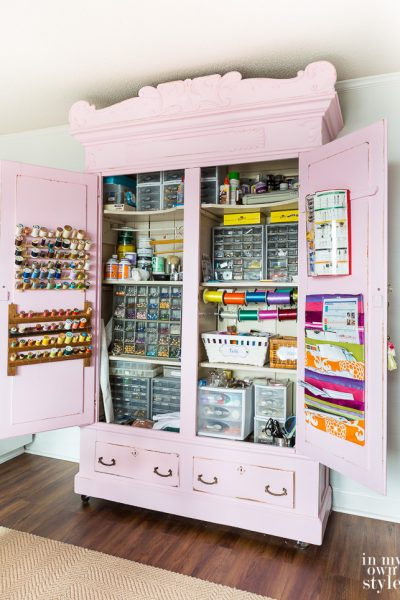 The Many Lives of My Craft Cabinet