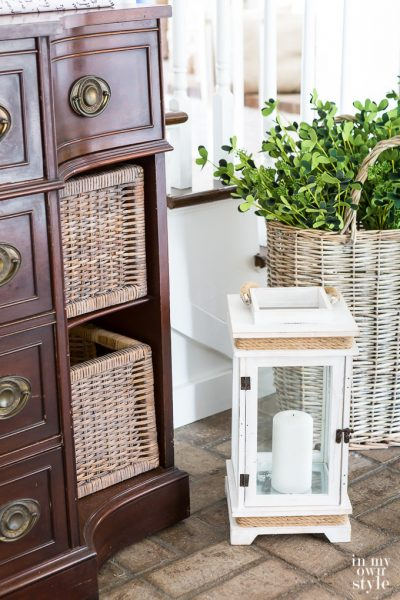 How To Change the Color of a Wicker Basket