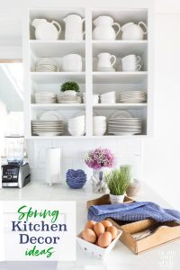 Spring-Kitchen-Counter-Decorating-ideas