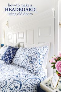 How-to-make-a-bed-headboard-using-old-bifold-doors