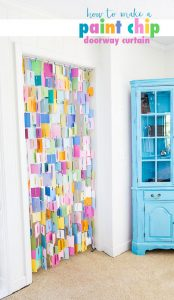 How-to-make-a-paint-chip-doorway-curtain