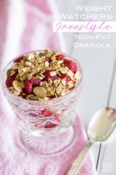 No-Fat Granola Recipe