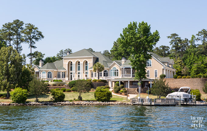 Large house on Lake Murray