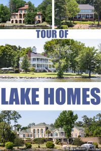 Tour of lake homes. #lakehomes #tourofhomes #houses #waterhomes