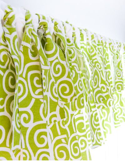 How to Make an Easy No Sew Window Valance in an Hour