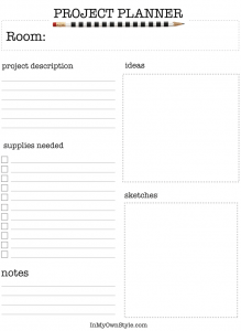 DIY-Decorating-Project-Planner to download