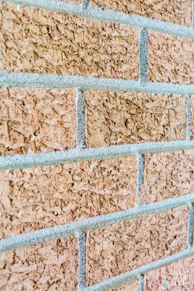 Goodbye Rust Colored Brick Walls