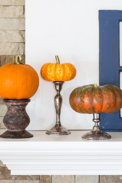 Insta-Style: Pedestal Pumpkins