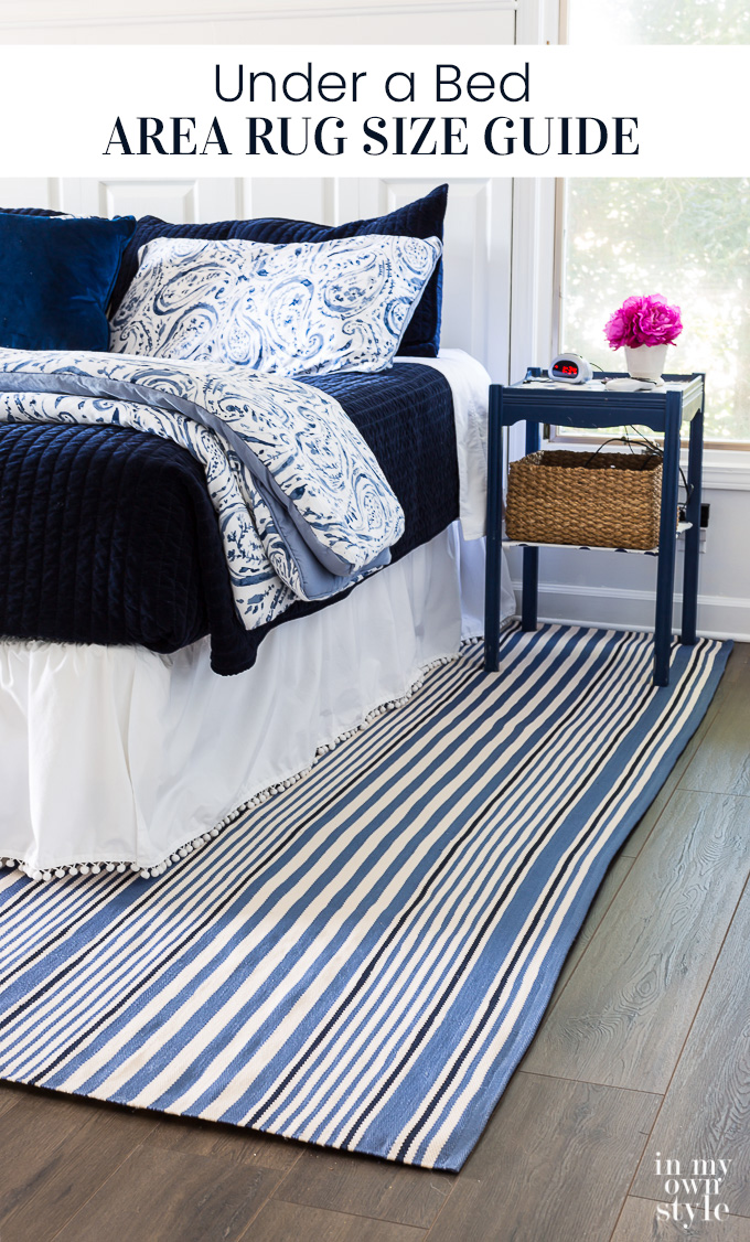 Where To Place Rug Under Bed