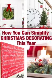 Tips on how to simplify Christmas decorating