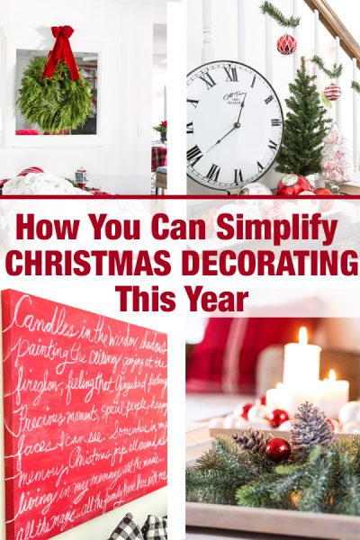 Tips for Simplifying Christmas Decorating