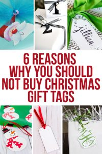 6 Reasons Why You Should Not Buy Christmas Gift Tags this year