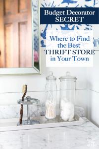 thrift store shopping secrets